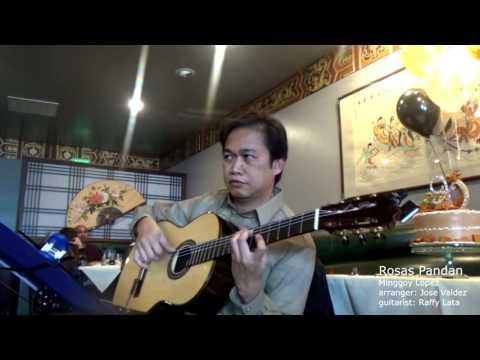 Rosas Pandan - M. Lopez (arr. Jose Valdez) Solo Classical Guitar
