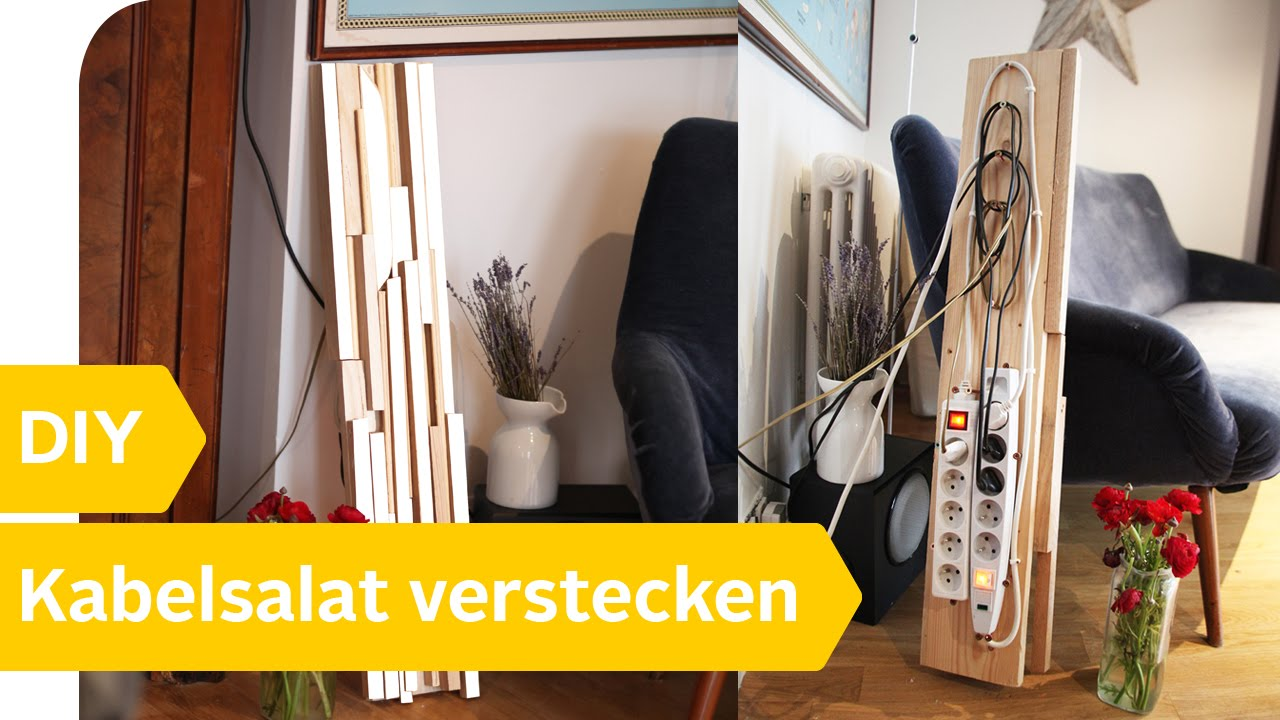 diy anleitung kabelsalat vermeiden verstecken roombeez powered by otto youtube. Black Bedroom Furniture Sets. Home Design Ideas