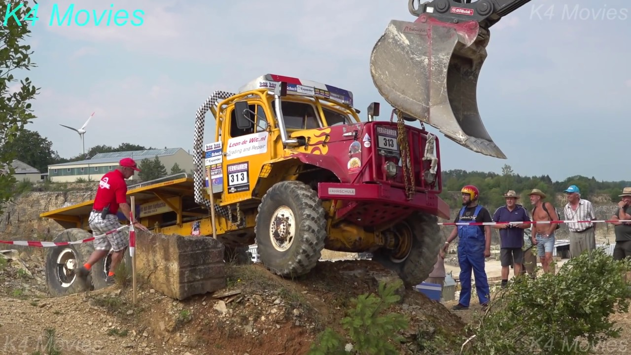 6x6 truck in Europe truck trial | Langenaltheim, Germany 2018
