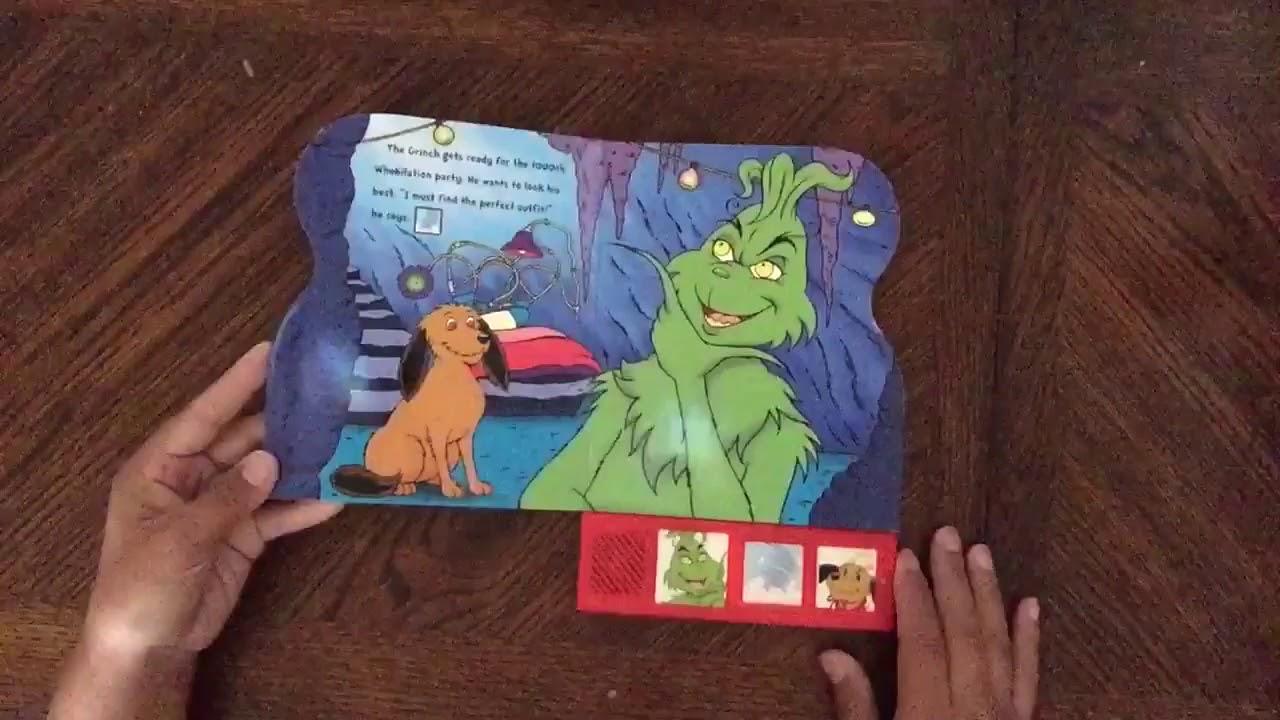 Dr Seuss The Grinch Who Stole Christmas Poem.Dr Seuss S How The Grinch Stole Christmas Play A Sound Flip Through