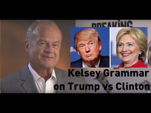 'Crazy' Trump vs 'Corrupt' Clinton: Kelsey Grammer on the US Election