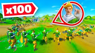 So I got 100 *RARE* Elves in a Game of Fortnite!