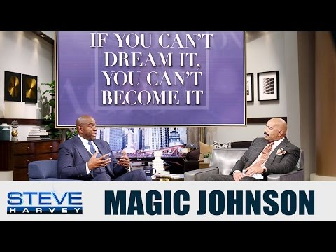 Magic Johnson: What does JUMPING mean… || STEVE HARVEY