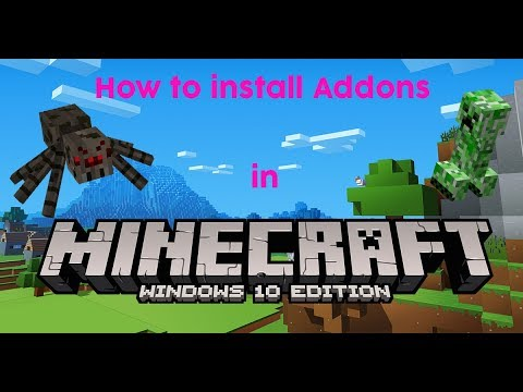 How To Install Mods/Addons in Minecraft Windows 10 Edition YouTube