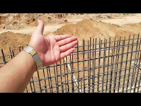 Retaining wall reinforcement construction