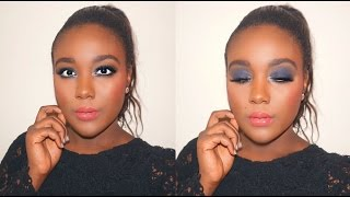 100 drugstore makeup tutorial full face first impressions testing new makeup black radiance