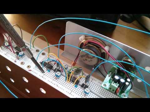 Retro Electronics: Monochrome Video Synthesiser