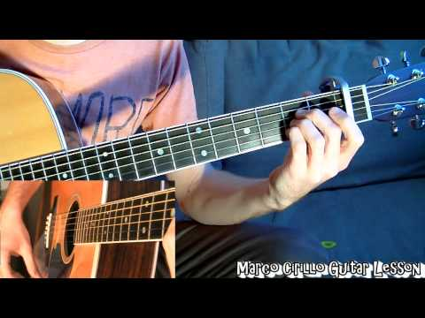 Mad World Gary Jules Guitar Lesson Free Tab