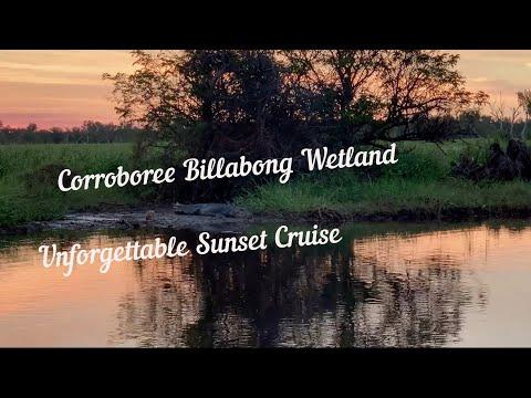 Незабываемый круиз на закате по Corroboree Billabong