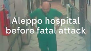 Aleppo hospital attack: CCTV footage shows Al Quds air strike in Syria