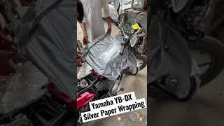 Yamaha YBZ-DX Tank Wrapping