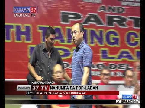 PDP LABAN MASS OATH TAKING IN DAVAO DEL SUR- FULL