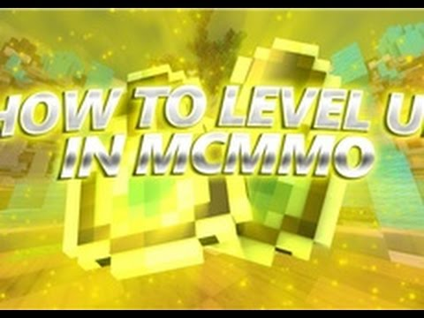 How To Level Up ALL Of Your MCMMO Skills!!!!!!!