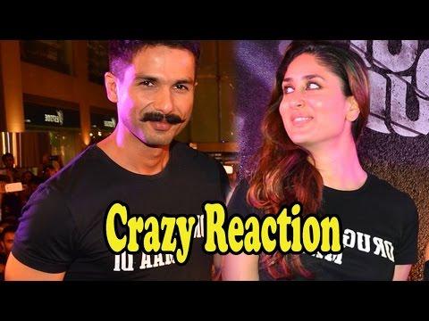 Shahid Kapoor's Crazy Reaction On Reuniting With Kareena Kapoor Khan After 9years!