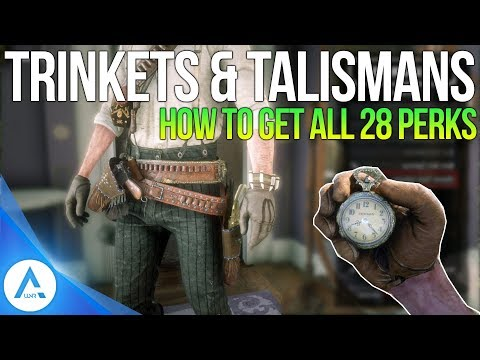 All Talismans & All Trinkets: Hidden Perks Guide - Red Dead Redemption 2