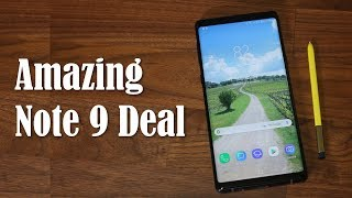 Samsung Galaxy Note 9 - Buy it for $600 (Incredible Deal)