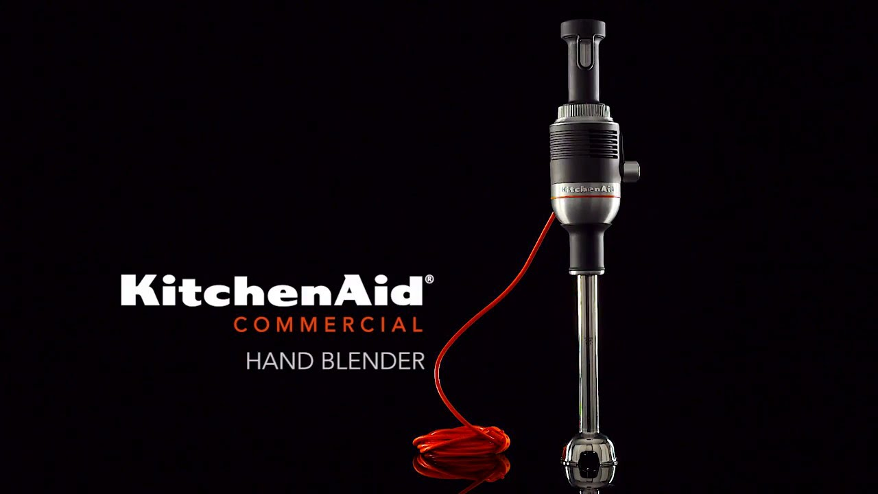 Kitchenaid Architect Series Hand Blender kitchenaid® commercial hand blender - youtube