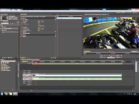 Adobe Premiere Pro CS5.5 - How Edit 2.7K And FullHD Video In One Sequence
