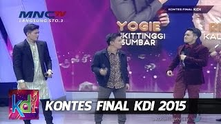 "Yogie Mahesya Aidil "" Lets Have Fun Together "" - Kontes Final KDI 2015 (11/5)"