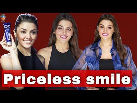 Hande Erçel's smile is worth a million