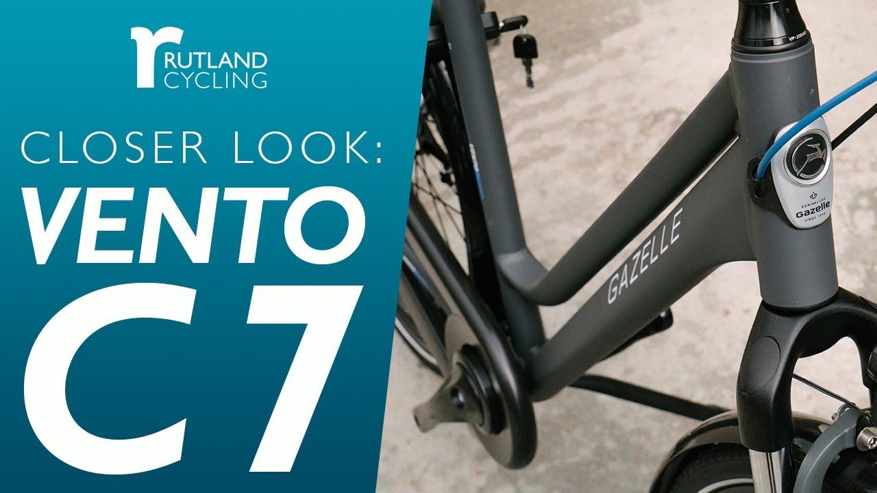 Gazelle Vento C7 2020 | Rutland Cycling