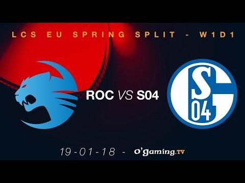 ROCCAT vs FC Schalke 04 - LCS EU Spring Split 2018 - Week 1 Day 1 - League of Legends