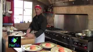 In The Kitchen With Chef Charles: Seared Tuna With Tomatoes, Pineapple And Feta