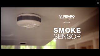 DOMADOO - Capteur de fumée FGSS-001 FIBARO