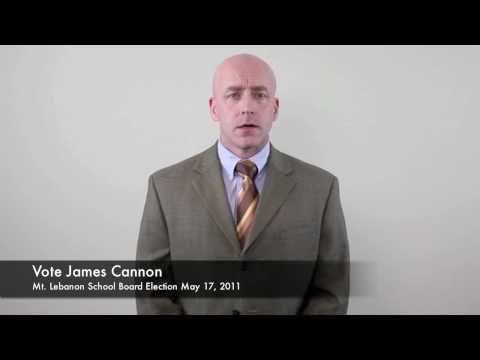 James Cannon for Mt. Lebanon School Board