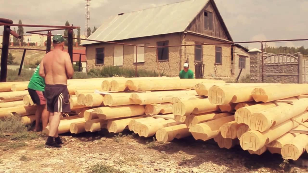 Отзыв о доме из оцилиндрованного бревна, построенном в Усовке - продолжение