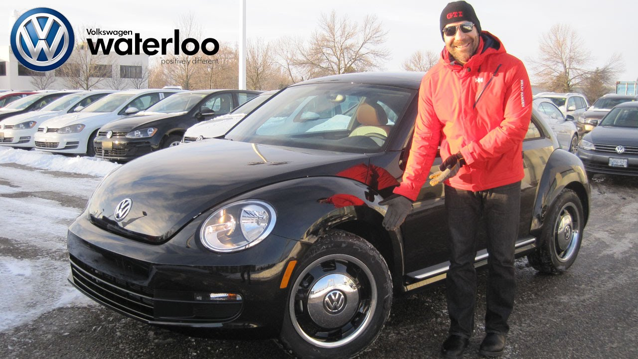 2017 Vw Beetle Clic Car Review At Volkswagen Waterloo With Robert Vagacs You