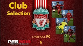 #First Club Selection #LIVERPOOL | #BlackBall с гарантией | #PES2019mobile