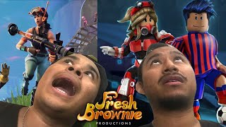 HELP ME ON ROBLOX AND FORTNITE!! | FRESH BROWNIE