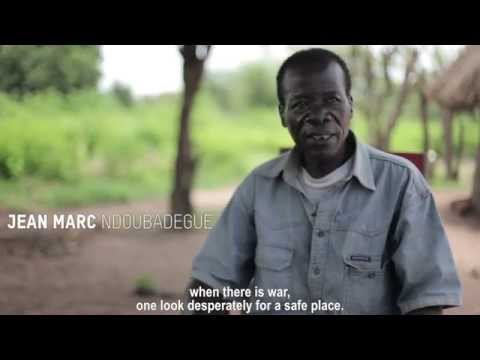 Jean Marc Ndoubadegue, refugee from Central African Republic in Chad