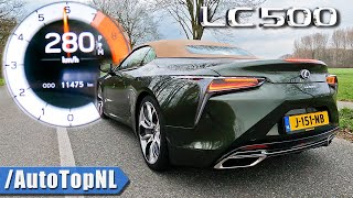 LEXUS LC500 Convertible 5.0 V8 0-280 *AMAZING SOUND* By AutoTopNL