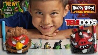 JEDI vs. SITH MULTI-PACK - Angry Birds Star Wars II TELEPODS WEEK - Day 5
