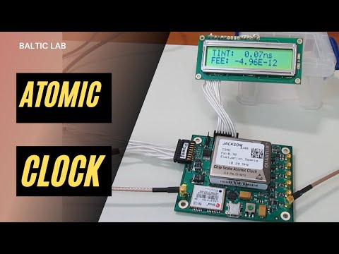 KF5OBS #7: Jackson Labs Chip Scale Atomic Clock (CSAC)
