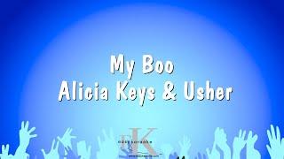My Boo - Alicia Keys & Usher (Karaoke Version)