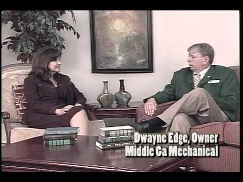 Pure Gold - Chamber Connections - Dwayne Edge, Owner of Middle Ga Mechanical
