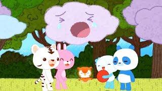 Детские песенки - Дождик, дождик уходи! 🌦️ - Baeko (стихи и рифмы для детей) / теремок песенки