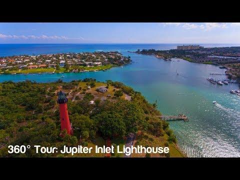Florida Travel: 360-Degree View of the Jupiter Lighthouse