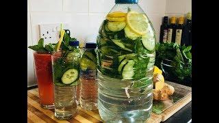 Chef Ricardo Detox !! Detox  your body with cucumber and lemon Apple cider vinegar
