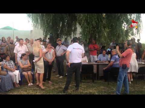 Выступление Михаила Саакашвили перед жителями Одесской области