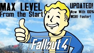 Fallout 4 MAX Level From the Start ** UPDATED! ** (PS4 / Xbox One)