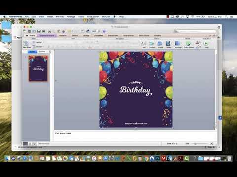 Create a basic invitation using power point mac youtube create a basic invitation using power point mac stopboris Choice Image