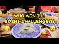 WHO WON THE SUSHI CHALLENGE?!?