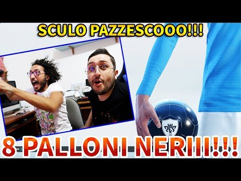 UNO SCULO PAZZESCOOO!!! 8 PALLONI NERIII!!! [PES 2019 BALL OPENING]