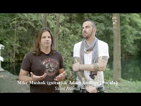 Saint Asonia Interview with Mike Mushok & Adam Gontier on the Power of Lyrics - Rock Heart #015