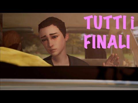 """Life is Strange: Before the Storm - Episodio BONUS """"Addio/Farewell"""" TUTTI i FINALI"""