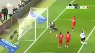 Deutschland vs Türkei 3 - 0 Alle Tore Highlights EM Qualifikation 2010